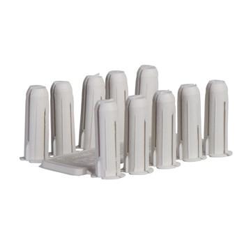 Thorsman Plastplugg TP 0 (Hvit) - 100 stk.