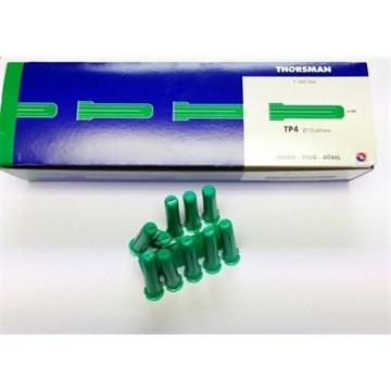 THORSMAN PLASTPLUGG  TP 4 - 50 stk