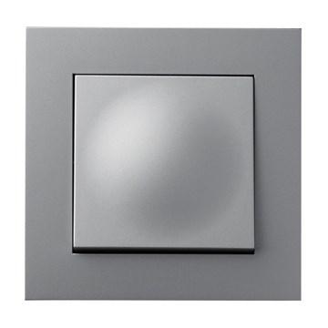 ELKO Plus bryter innfelt 1-pol kryssvender Aluminium