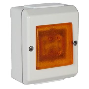 ELKO Bryter påvegg m/lys 1-pol S16/1 VP PH IP55