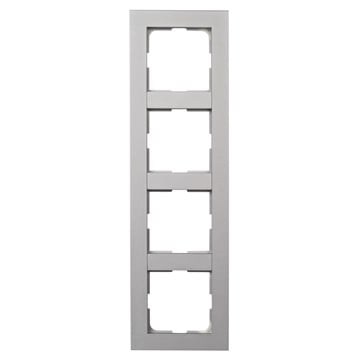 ELKO Plus kombinasjonsplate 4-hull Aluminium
