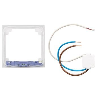 ELKO Plus lysramme m/blått lys 1-Hull