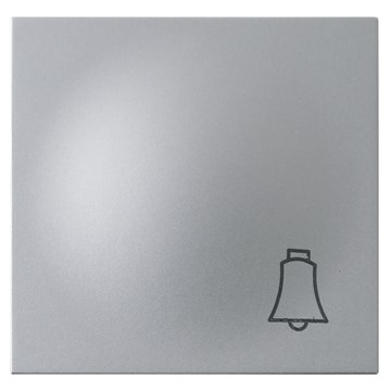ELKO Plus vippestykke m/klokkesymbol Aluminium