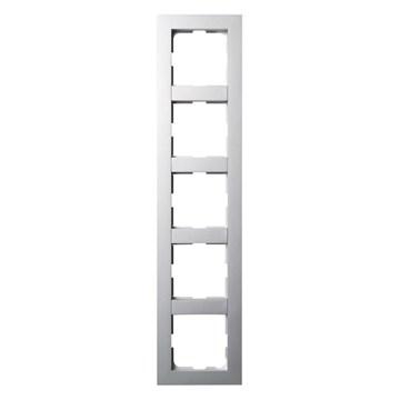 ELKO Plus kombinasjonsplate 5-hull Aluminium
