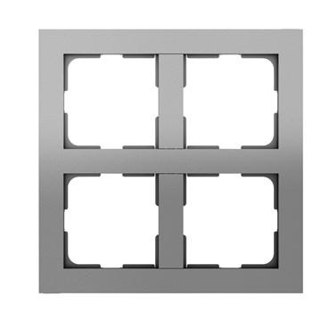 ELKO Plus multiramme 2x2-hull Aluminium