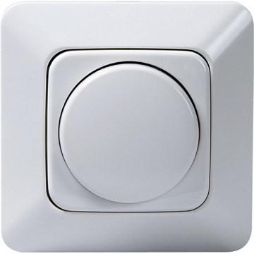 ABB dimmer 6513 for elektronisk trafo Hvit