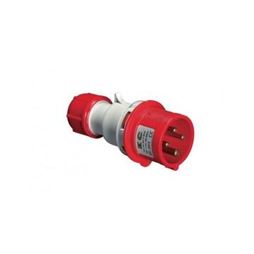 EC Støpsel 400V 16A 3P+J IP44