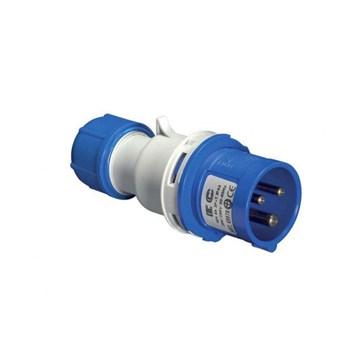 EC Støpsel 230V 32A 2P+J IP44