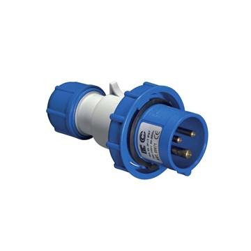 EC Støpsel 230V 32A 3P+J IP67 EC69277