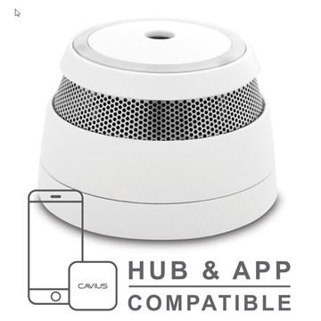 Cavius trådløs seriekoblet optisk røykvarsler - 5 års batteri