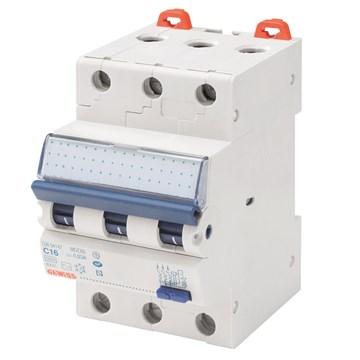 Gewiss Jordfeilautomat 310C 10A 3-pol 3 mod C-karGW94346