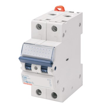 Gewiss Elementautomat MT C 25A 2P 10kAGW92649