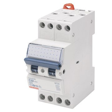Gewiss Mini Elementautomat MT C 25A 4P 6kAGW90289