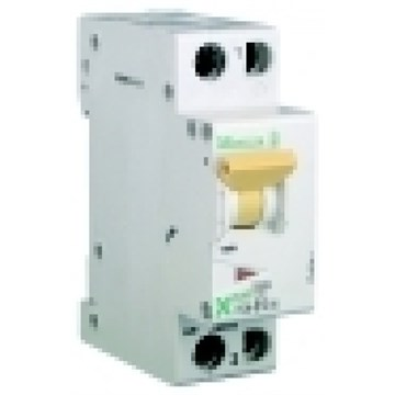 Automatsikring, 1-pol+N, kvikk, 20A, PLSM-B20/1N