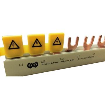 Berøringsbeskyttelse for samleskinne 5 moduler