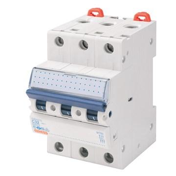 Gewiss Elementautomat MT B 50A 3P 10kA GW92573