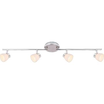 Valence LED spotskinne 4 lys dimbar