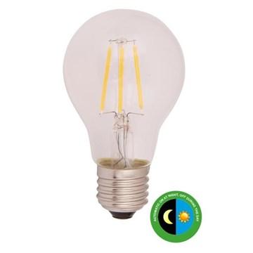 Scanlight LEDpære m/sensor filament 4,5W E27 klar