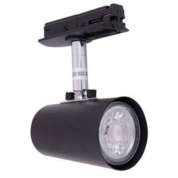 Track-Light spot for skinne Sort