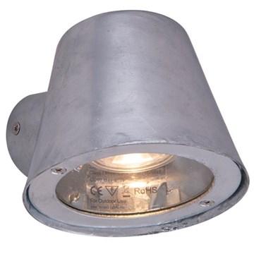Risør utelampe vegg IP44 Galvanisert