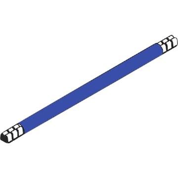 Lask 265 mm blå 10mm²