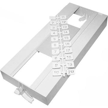 Stansefabrikken ASD 470 deksel, 26 moduler
