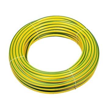 PVC strømpe 4mm Gul/Grønn