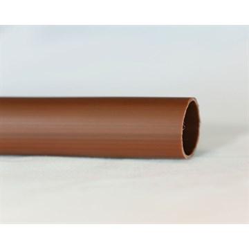 PVC strømpe 5mm brun