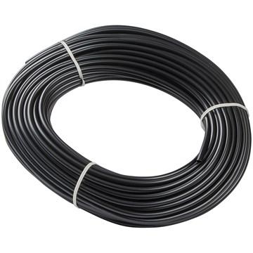 PVC strømpe 14mm sort