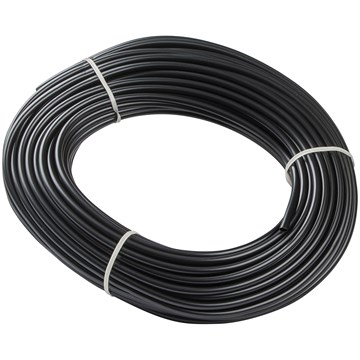 PVC strømpe 16mm sort