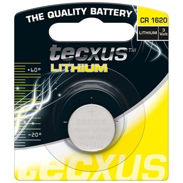 Tecxus CR1620 Lithium Batteri 3V