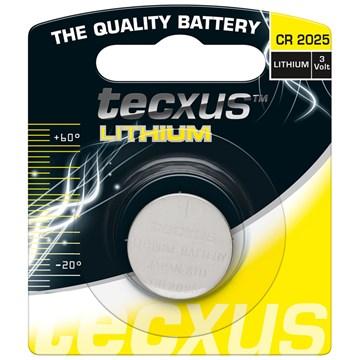 Tecxus CR2025 Lithium Batteri 3V