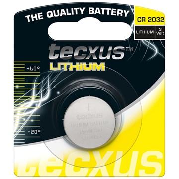 Tecxus CR2032 Lithium Batteri 3V