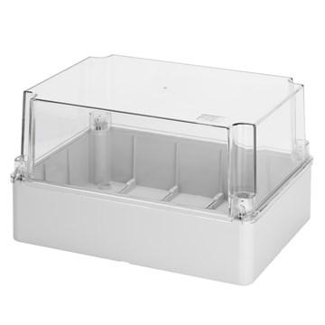 Gewiss kapsling transparent front 110x150x140 IP56 GW44436