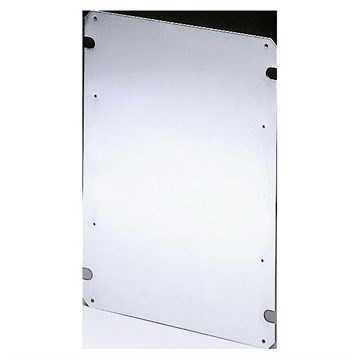Gewiss montasjeplate galvanisert 254x200 GW44636