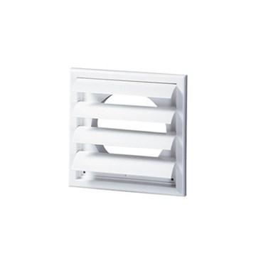 Siku utvendig lamellventil m/stuss Ø125mm