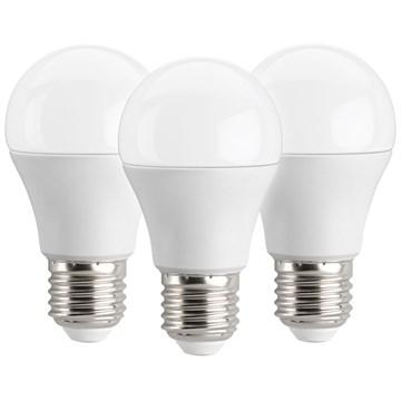 LED Bulb 3pk 5.5W varm hvit E27 (40W)
