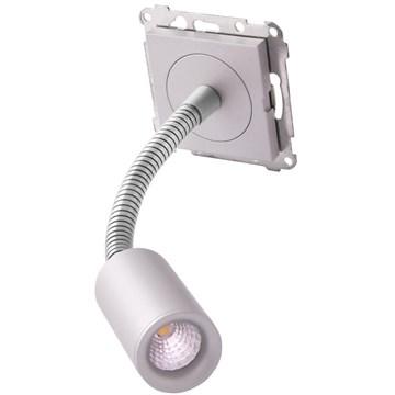 ELKO Bright leselampe 4W LED Aluminium