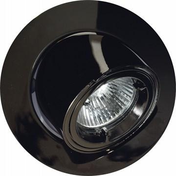 Fokus 12V/35W sort krom 65º vipp