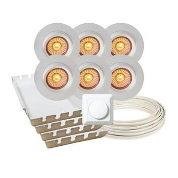 Calida LED downlightpakke 6 pk