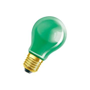 Osram Decor Color Normal grønn 25W 240V E27