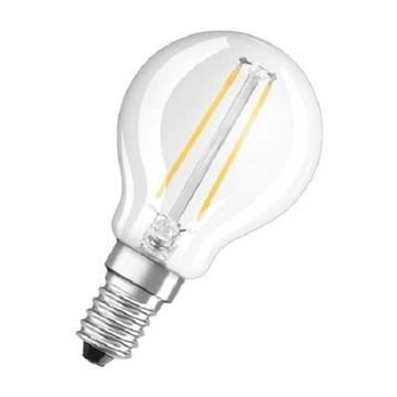 Osram lyspære LED Filament klar 2W E14 2700k