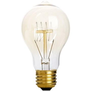 Edison Vintage pære normalform 40W E27 Klar