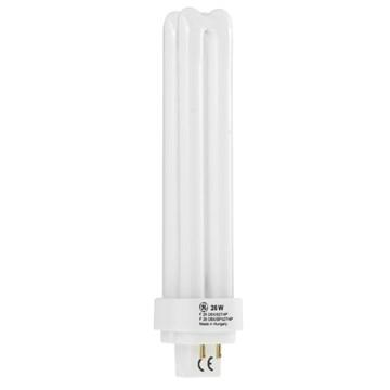 Tungsram kompaktlysrør 26W/830 4-Pins G24q-3