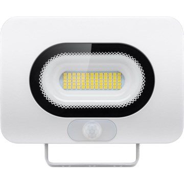 Goobay LED Lyskaster m/sensor 30W Hvit