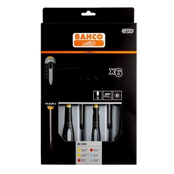 Bahco BE-9886 skrutrekkersett 6 deler