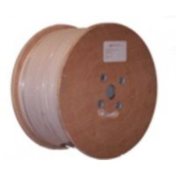 RG59 Trishield Hvit PVC (metervare)