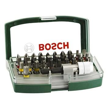 Bosch 32 deler bitssett Grønn