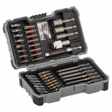 Bosch 43-delers bits- og pipenøkkelsett
