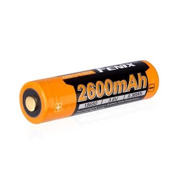 Fenix 18650-batteri 3.6V 2600 mAh